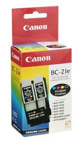 Картридж CANON BC-21e многоцветный [0899a002]