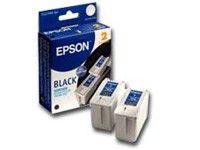 Двойная упаковка картриджей EPSON C13T019402 черный