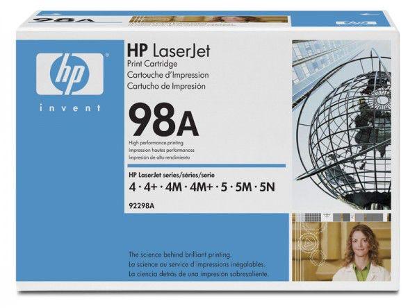 Картридж HP 92298A черный