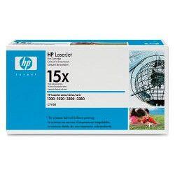 Картридж HP 15X C7115X,  черный