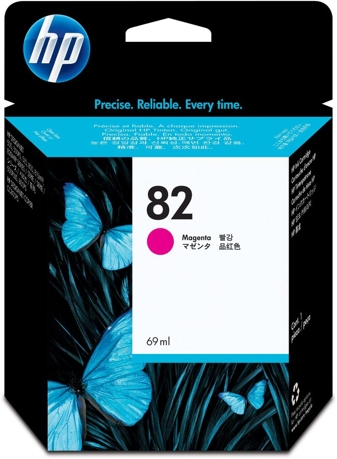 Картридж HP 82 пурпурный [c4912a]