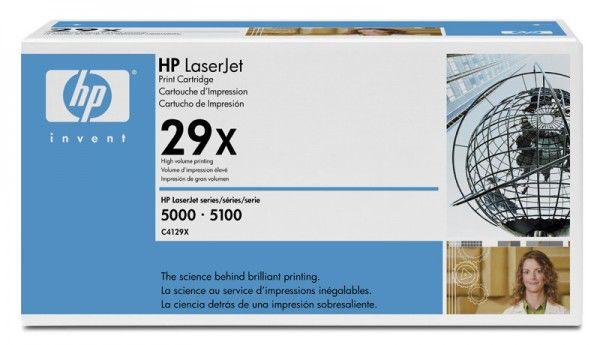 Картридж HP 29X черный [c4129x]