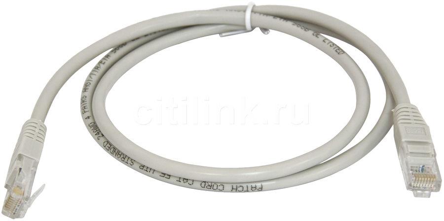 Патч-корд  литой (molded), UTP, cat.5E, 1м, 1 шт