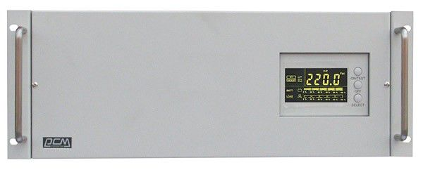 Источник бесперебойного питания POWERCOM Smart King XL RM SXL-3000A-RM-LCD,  3000ВA [rxl-3k0a-6gc-2440]