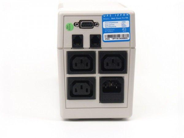 Источник бесперебойного питания IPPON Back Power Pro 800,  800ВA [9c00-53022-00]