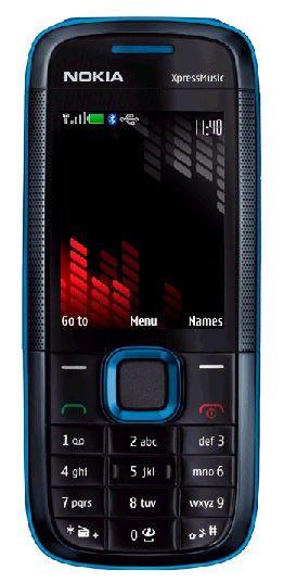 Музыкальный телефон NOKIA 5130  синий