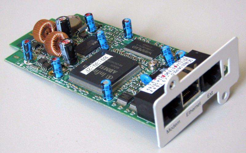 Адаптер Powercom SNMP для ИБП внутренний [snm-p000-00w-0010]