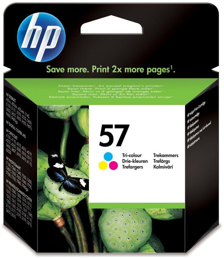 Картридж HP 57, многоцветный [c6657ae]