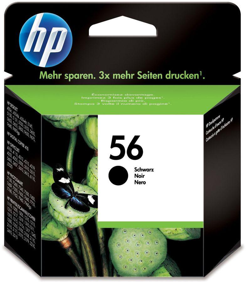 Картридж HP №56 черный [c6656ae]