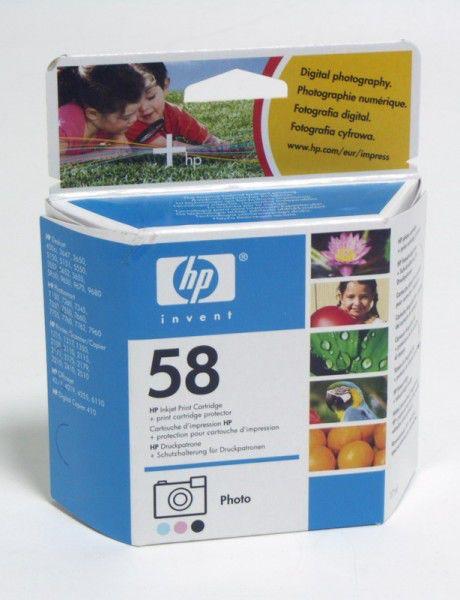 Картридж HP C6658AE многоцветный