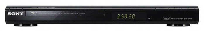 DVD-плеер SONY DVP-SR100B,  черный [dvpsr100b.ru3]