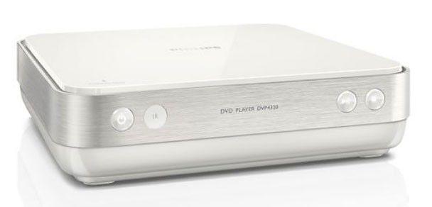 DVD-плеер PHILIPS DVP4320WH,  белый [dvp4320wh/51]