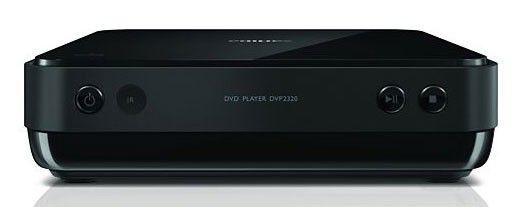 DVD-плеер PHILIPS DVP2320BL,  черный [dvp2320bl/51]