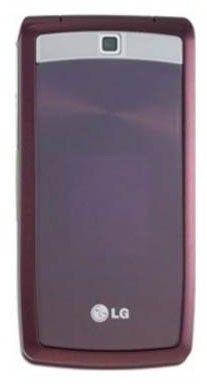 Мобильный телефон LG KF300  красный
