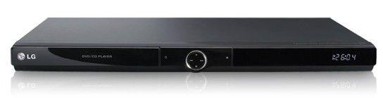 DVD-плеер LG DVX-490H,  черный