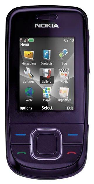 Мобильный телефон NOKIA 3600s  сливовый