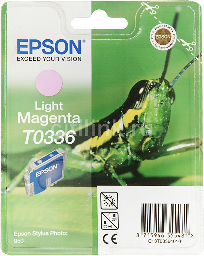 Картридж EPSON C13T033640 светло-пурпурный [c13t03364010]