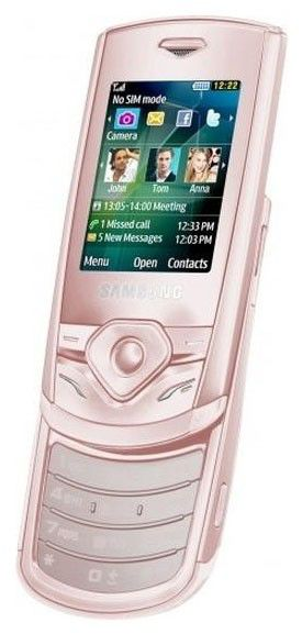 Мобильный телефон SAMSUNG GT-S3550  розовый