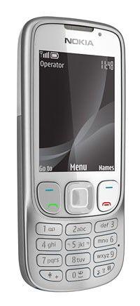 Мобильный телефон NOKIA Classic 6303i  серебристый/белый