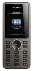 Мобильный телефон PHILIPS X312  черный
