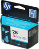 Картридж HP 28 многоцветный [c8728ae] free shipping 5pk new for hp 28xl ink rushed for hp deskjet 3320 3325 3420 3450 3520v 3650v for hp officejet 4255 4256 hot sale