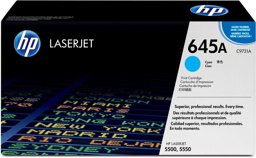 Картридж HP 645A голубой [c9731a]