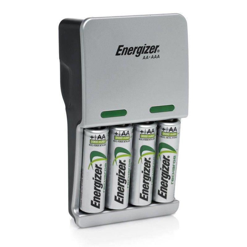 Аккумулятор + зарядное устройство ENERGIZER Compact Charger,  4 шт. AA,  2450мAч