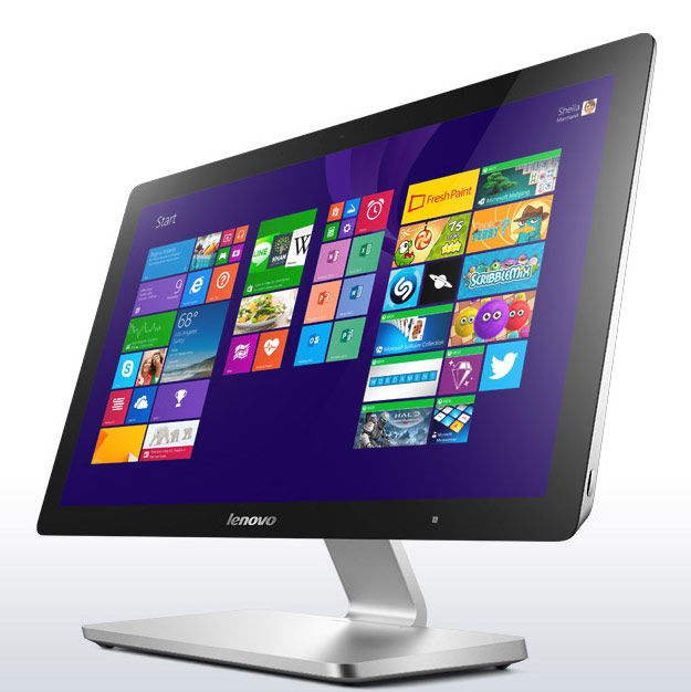 Моноблок LENOVO A540, Intel Core i5 4258U, 4Гб, 1Тб, nVIDIA GeForce 840 - 2048 Мб, DVD-RW, Windows 8.1, серебристый [f0an0035rk]