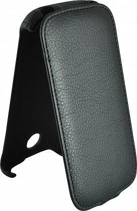 Чехол (флип-кейс) ARMOR-X flip, для Lenovo A760, черный