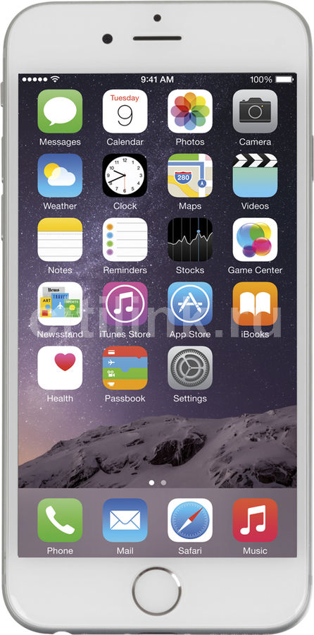 Смартфон APPLE iPhone 6 MG482RU/A  16Gb, серебристый
