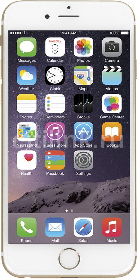 Смартфон APPLE iPhone 6 MG492RU/A  16Gb, золотистый