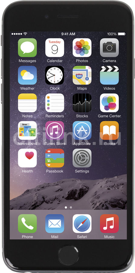 Смартфон APPLE iPhone 6 MG4F2RU/A  64Gb, серый