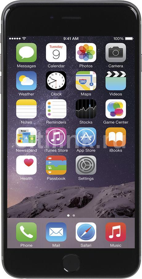 Смартфон APPLE iPhone 6 Plus MGAC2RU/A  128Gb, серый