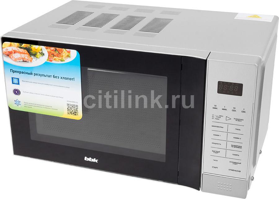 Микроволновая печь BBK 20MWG-736S/BS, серебристый