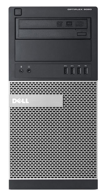 Компьютер  DELL Optiplex 9020,  Intel  Core i5  4590,  DDR3 4Гб, 500Гб,  Intel HD Graphics 4600,  DVD-RW,  Windows 7 Professional,  черный и серебристый [9020-1154]
