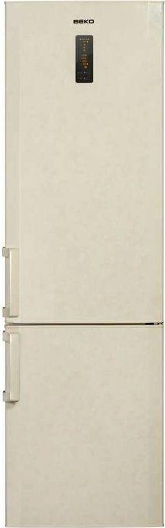 Холодильник BEKO CN 332220 AB,  двухкамерный,  бежевый