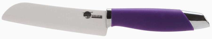 Нож кухонный Supra SK-Y12St керамич. сантоку лезв.127мм фиолетовый