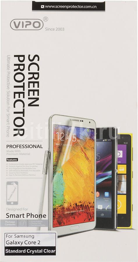 Защитная пленка VIPO для Samsung Galaxy Core 2,  прозрачная, 1 шт