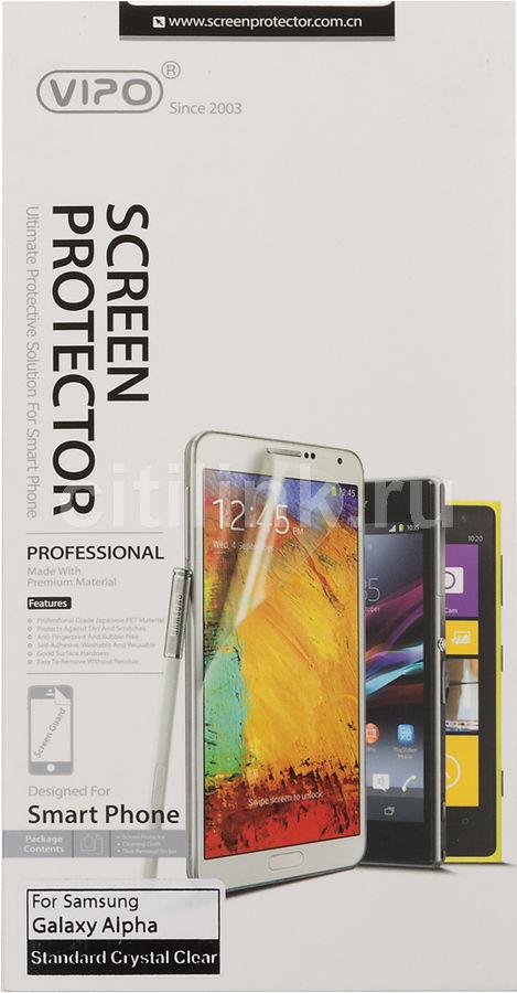 Защитная пленка VIPO для Samsung Galaxy Alpha,  прозрачная, 1 шт