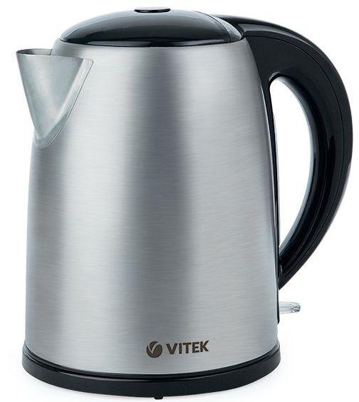 Чайник электрический VITEK VT-1108 SR, 2200Вт, серебристый