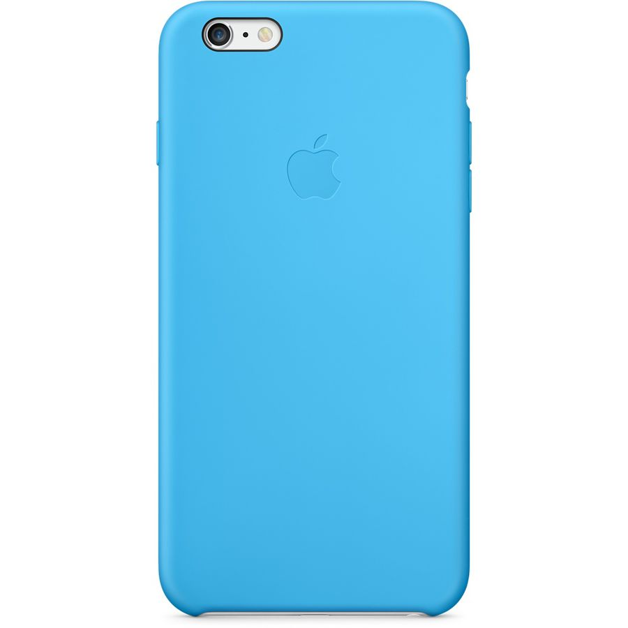 Чехол (клип-кейс) APPLE MGRH2ZM/A, для Apple iPhone 6 Plus, синий