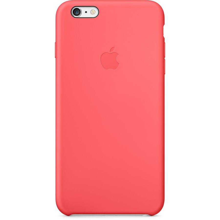 Чехол (клип-кейс) APPLE MGXW2ZM/A, для Apple iPhone 6 Plus, розовый