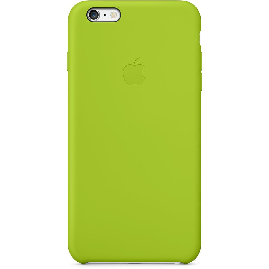 Чехол (клип-кейс) APPLE MGXX2ZM/A, для Apple iPhone 6 Plus, зеленый