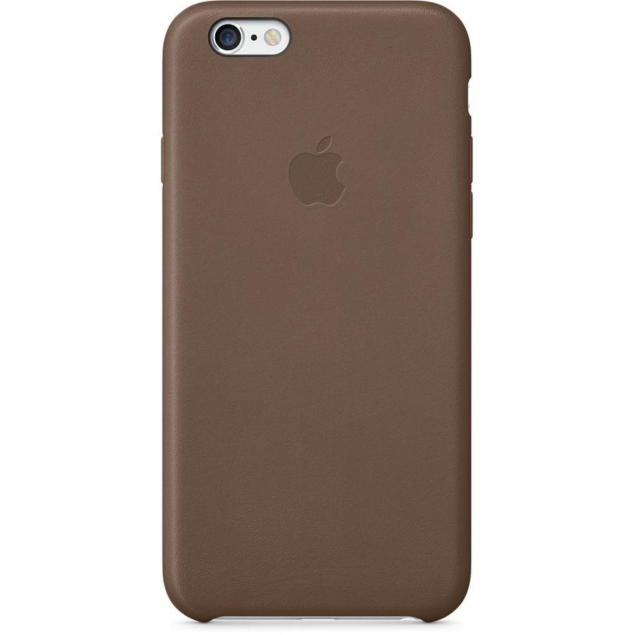 Чехол (клип-кейс) APPLE MGR22ZM/A, для Apple iPhone 6, коричневый