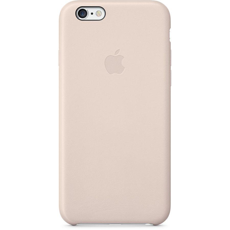 Чехол (клип-кейс) APPLE MGR52ZM/A, для Apple iPhone 6, бледно-розовый