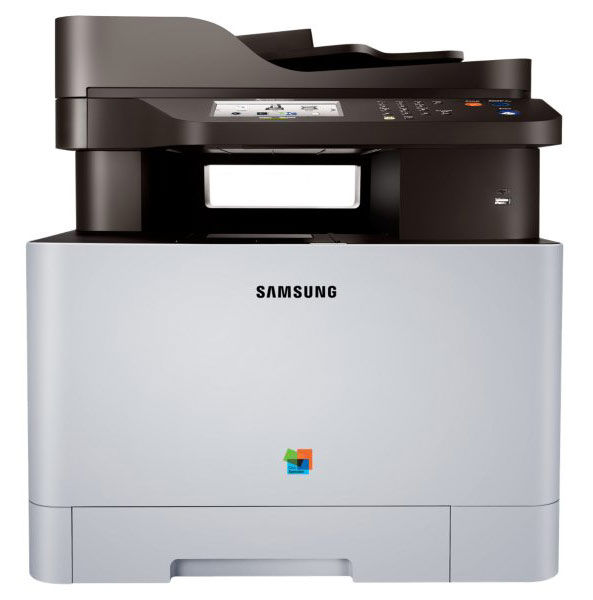 МФУ SAMSUNG Xpress SL-C1860FW,  A4,  цветной,  лазерный,  серый [sl-c1860fw/xev]