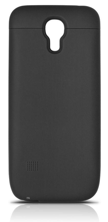 Чехол-аккумулятор DF sBattery-08, 2600 мАч, для Samsung Galaxy S4 mini, черный