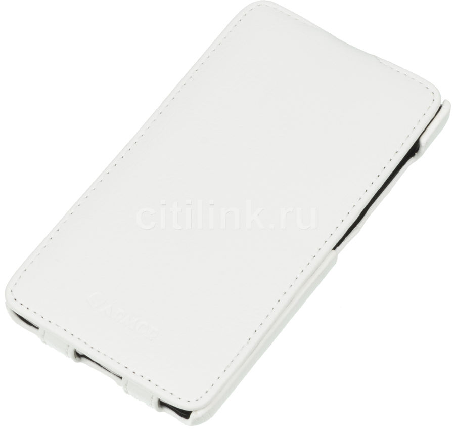 Чехол (флип-кейс) ARMOR-X flip full, для Microsoft Lumia 535 Dual, белый