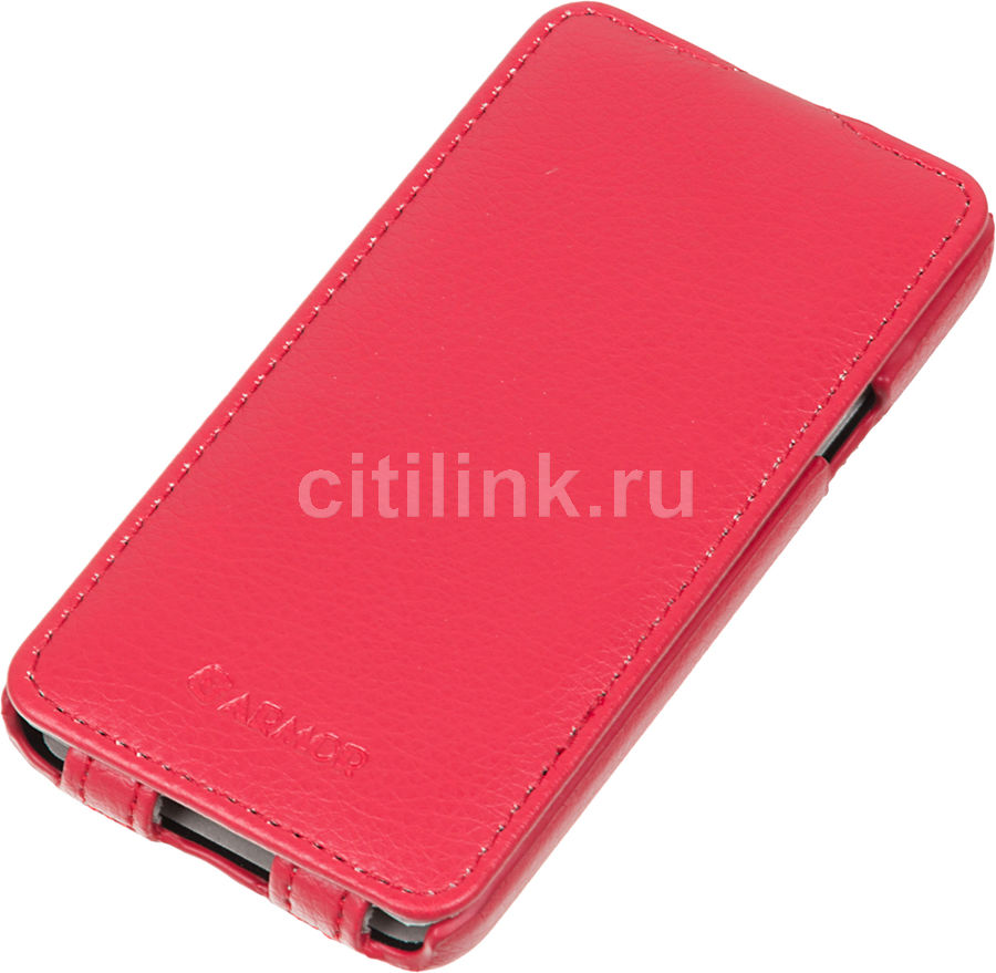 Чехол (флип-кейс) ARMOR-X flip full, для Samsung Galaxy A3, красный