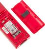 Радиотелефон PANASONIC KX-TGC310RUR,  черный и красный вид 5